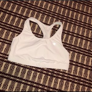 Champion | Women's White Sports Bra Large